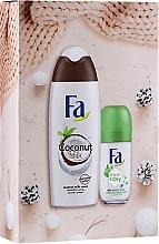 Parfums et Produits cosmétiques Fa - Set (gel douche/250ml + déodorant roll-on/50ml)