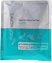 Parfums et Produits cosmétiques Masque exfoliant à l'acide glycolique et à l'aloès pour les pieds - Avon Foot Works