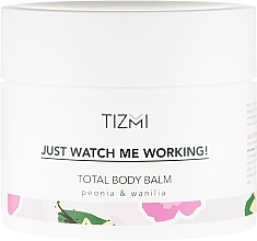 Parfums et Produits cosmétiques Baume corporel pivoine et vanille - Tizmi Total Body Balm Peonia & Wanilia