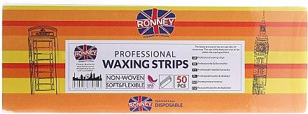 Bandes de cire professionnelles 7x20 cm - Ronney Waxing Strips