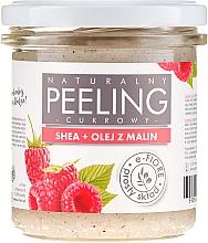 Parfums et Produits cosmétiques Gommage naturel au sucre, beurre de karité et huile de framboise pour corps - E-Fiore Raspberry Body Peeling