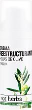 Parfums et Produits cosmétiques Crème à l'extrait d'olive pour visage - Tot Herba Crema Restructuring Cream of Olive Leaves