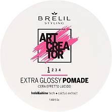 Parfums et Produits cosmétiques Pommade fixation souple, effet brillance - Brelil Art Creator Extra Glossy Pomade