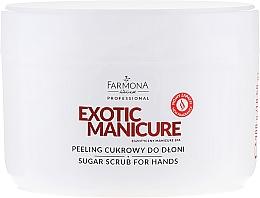Parfums et Produits cosmétiques Gommage au sucre pour mains - Farmona Egzotic Manicure Scrub