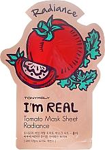 Parfums et Produits cosmétiques Masque tissu à l'extrait de tomate pour visage - Tony Moly I'm Real Tomato Mask Sheet