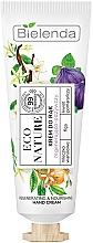 Crème à la vanille et fleur d'oranger pour mains - Bielenda Eco Nature Vanilla Milk, Figs & Orange Blossom Hand Cream — Photo N1