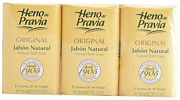 Parfums et Produits cosmétiques Heno de Pravia Original - Set (savons/3x150g)