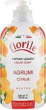 Parfums et Produits cosmétiques Savon liquide pour mains et corps, Agrumes - Parisienne Italia Fiorile Citrus Liquid Soap