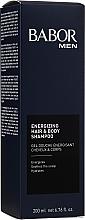 Parfums et Produits cosmétiques Gel douche au panthénol pour cheveux et corps - Babor Men Energizing Hair & Body Shampoo