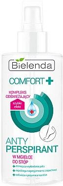 Brume anti-transpirante pour pieds - Bielenda Comfort Foot Antiperspirant Spray Mist