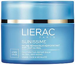 Parfums et Produits cosmétiques Baume après-soleil réhydratant pour visage et décolleté - Lierac Sunissime Global