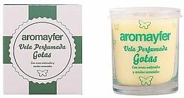 Parfums et Produits cosmétiques Bougie parfumée à la cire végétale - Mayfer Perfumes Aromayfer Scented Candle
