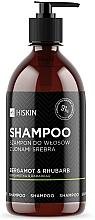 Parfums et Produits cosmétiques Shampooing aux ions d'argent Bergamote et Rhubarbe - HiSkin Bergamot & Rhubarb Shampoo