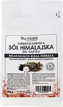 Parfums et Produits cosmétiques Sel de bain rose de l'Himalaya, Thé blanc - E-Fiore White Tea Himalayan Salt