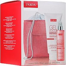 Parfums et Produits cosmétiques Coffret cadeau - Pupa Home Spa Refreshing Rebalancing Tiare Extract (sh/gel/300ml + aroma/water/150ml + bag)