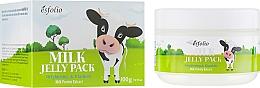 Parfums et Produits cosmétiques Masque éclaircissant aux protéines de lait pour visage - Esfolio Milk Shape Memory Jelly Pack