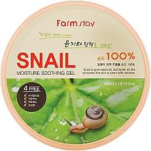 Parfums et Produits cosmétiques Gel à la bave d'escargot pour visage et corps - FarmStay Moisture Soothing Gel Snail