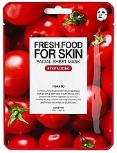 Parfums et Produits cosmétiques Masque tissu revitalisant à l'extrait de tomate pour visage - Superfood For Skin Facial Sheet Mask Tomato Revitalizing