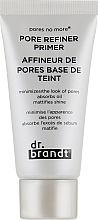 Parfums et Produits cosmétiques Base de teint à l'extrait de fleur de trèfle rouge - Dr. Brandt Pores No More Pore Refiner Primer