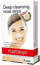 Parfums et Produits cosmétiques Patchs purifiants sans paraben pour nez - Purederm Deep Cleansing Nose Pore Strips