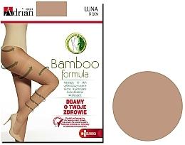 Parfums et Produits cosmétiques Collant pour femme, Luna, 15 Den, beige - Adrian