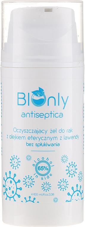 Gel à l'huile essentielle de lavande pour mains - BIOnly Antiseptica Antibacterial Gel — Photo N3