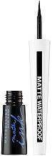 Parfums et Produits cosmétiques Eyeliner liuquide waterproof - Maybelline New York Master Ink Eyeliner Matte Waterproof