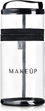 Étui pour pinceaux de maquillage, transparent, Allvisible - MakeUp