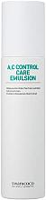 Parfums et Produits cosmétiques Émulsion à l'eau d'arbre à thé pour visage - Swanicoco A.C Control Care Emulsion