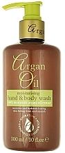 Parfums et Produits cosmétiques Nettoyant à l'huile d'argan pour mains et corps - Xpel Marketing Ltd Argan Oil Moisturizing Hand Body Wash