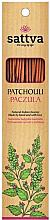 Parfums et Produits cosmétiques Bâtons d'encens Patchouli - Sattva Patchouli