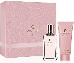 Parfums et Produits cosmétiques Aigner Debut - Set (eau de parfum/50ml + lotion corporelle/100ml)