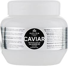 Parfums et Produits cosmétiques Masque à l'extrait de caviar pour cheveux - Kallos Cosmetics Anti-Age Hair Mask