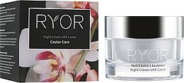 Parfums et Produits cosmétiques Crème de nuit à l'extrait de caviar - Ryor Night Cream With Caviar