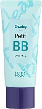 Parfums et Produits cosmétiques Holika Holika Clearing Petit BB Cream - BB crème à l'extrait d'huile d'arbre à thé SPF 30 pour visage