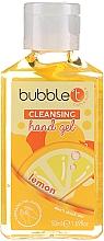 Parfums et Produits cosmétiques Gel antibactérien pour mains, Citron - Bubble T Cleansing Hand Gel