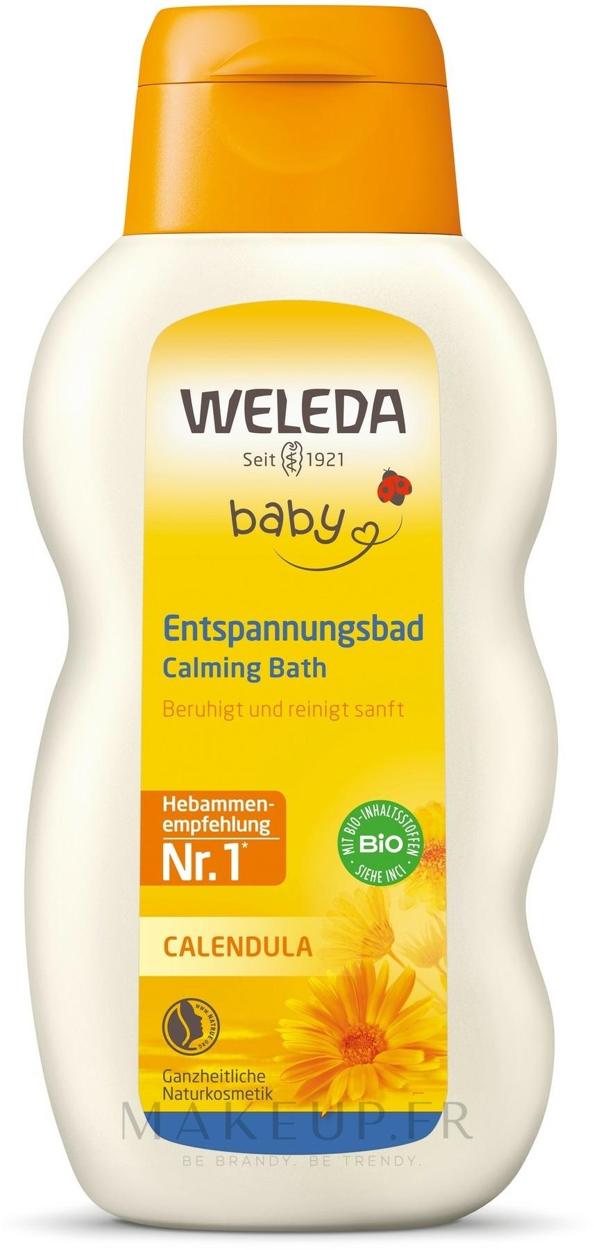Lotion de bain au calendula - Weleda Calendula-Bad — Photo 200 ml