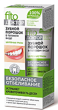 Parfums et Produits cosmétiques Pâte blanchissante pour les dents FitoDoktor - FitoKosmetik