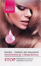 Parfums et Produits cosmétiques Masque au panthénol pour cheveux - Czyste Piękno