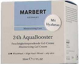Parfums et Produits cosmétiques Gel-crème au panthénol pour visage - Marbert 24h Aquabooster Moisturizing Gel Cream Combination Skin-Oily Skin