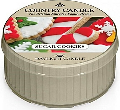 Parfums et Produits cosmétiques Bougie chauffe-plat Biscuits au sucre - Country Candle Sugar Cookies Daylight
