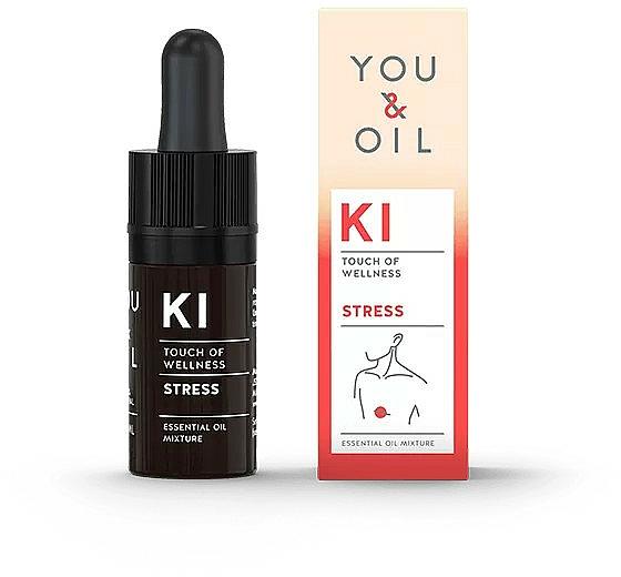 Mélange d'huiles essentielles - You & Oil KI-Stress Touch Of Welness Essential Oil