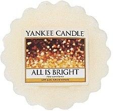 Parfums et Produits cosmétiques Tartelette de cire parfumée Fête scintillante - Yankee Candle All is Bright Wax Melts