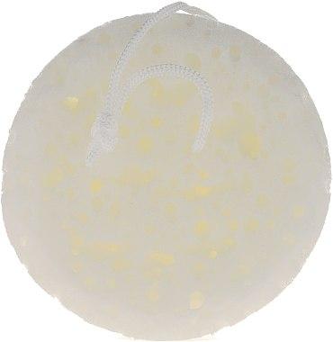 Éponge de bain, blanche 6008 - Donegal