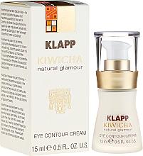 Parfums et Produits cosmétiques Crème à l'huile de jojoba contour des yeux - Klapp Kiwicha Eye Contour Cream