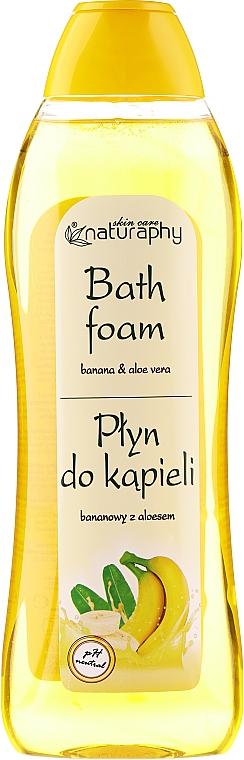 Mousse de bain, Banane et Aloe vera - Bluxcosmetics Naturaphy Banana & Aloe Vera Bath Foam
