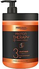 Parfums et Produits cosmétiques Masque régénérant au complexe de kératine pour cheveux secs et abîmés - Prosalon Protein Therapy + Keratin Complex Rebuild Mask