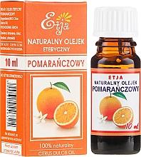 Parfums et Produits cosmétiques Huile essentielle d'orange 100% naturelle - Etja Natural Citrus Dulcis Oil