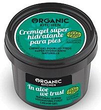 Parfums et Produits cosmétiques Crème gel super hydratante naturelle pour les pieds - Organic Shop Organic Kitchen Foot Cream-Gel