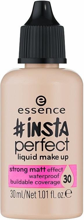 Fond de teint liquide matifiant - Essence Insta Perfect Liquid Make Up